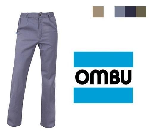 Pantalon Ombu De Trabajo Homologado Grafa Talle 38 Al 58