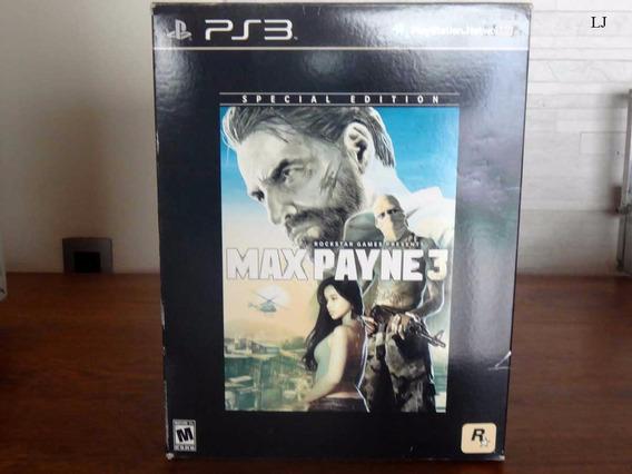 Max Payne 3 Especial Edition Ps3 - Promoção
