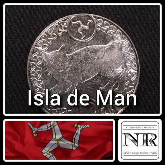 Isla De Man - 10 Pence - Año 2017 - Km # - - Gato