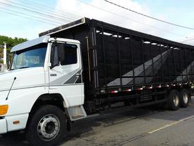 Caminhão Gaiola Boiadeiro 10.50m, Mb 1618! Aceito Troca