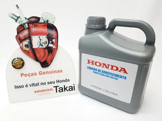 Aditivo (fluído) Radiador Honda 3,785 ( Genuíno Honda)