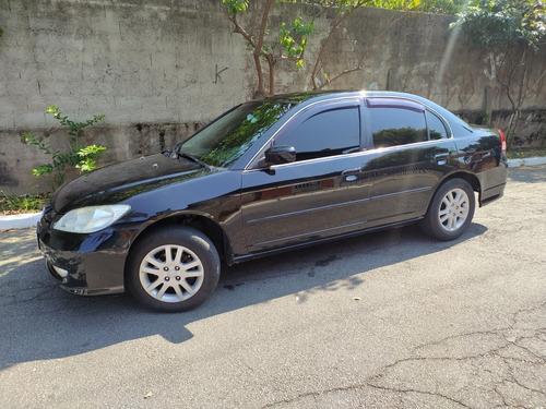 Imagem 1 de 15 de Honda Civic 2004 1.7 Lxl Aut. 4p