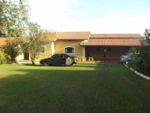 Chácara Com 4 Dormitórios À Venda, 907 M² Por R$ 660.000,00 - Parque Da Represa - Paulínia/sp - Ch0044