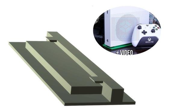 Xbox One X Suporte Vertical De Pé Stand Ante Aquecimento
