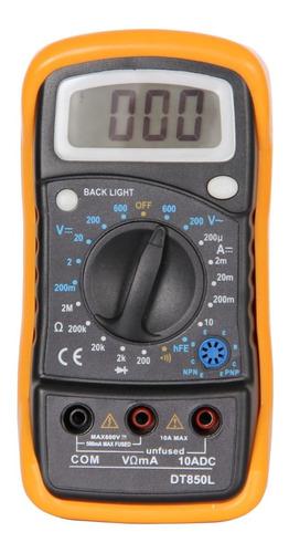 Multimetro Tester Pronext Ts 850 L Volt Amp Resist Hfe Trans