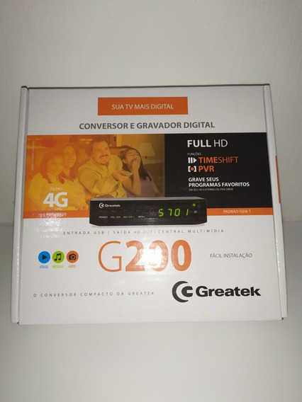 Conversor Digital Greatek G200