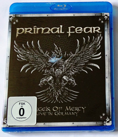 Blu Ray Primal Fear Angels Of Mercy Live In Germany Lacrado