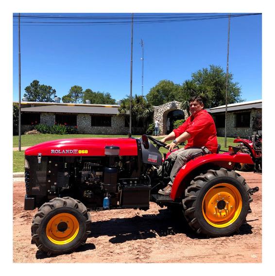 Tractor Viñatero Compacto Roland H 60hp 4x4 ¡entrega Ya!