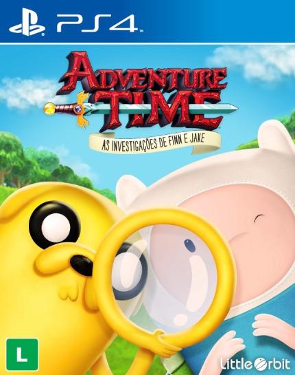 Adventure Time As Investigações De Finn E Jake Ps4 Rcr Games
