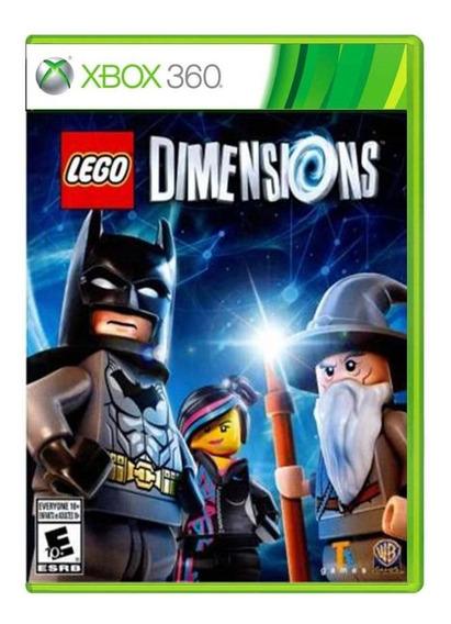 Lego Dimensions Xbox 360 Midia Fisica Usado