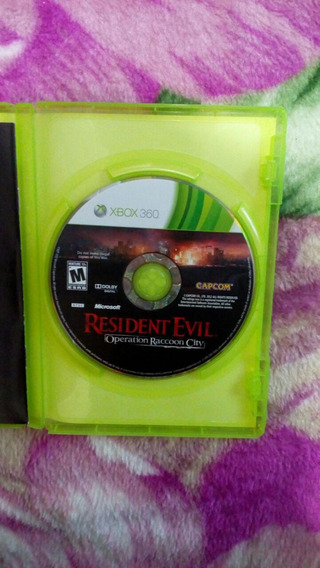 Resident Evil Operation Raccoon Xbox 360 Original