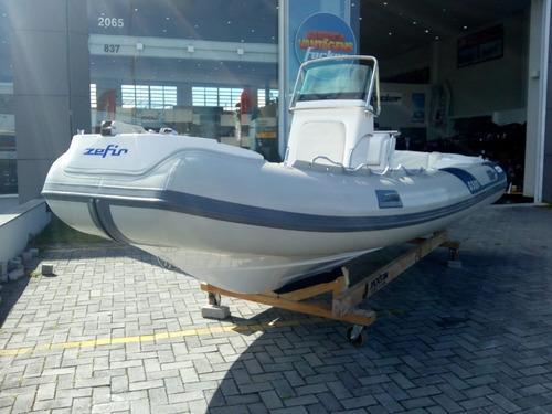Barco Inflável Zefir G 500 Ii Com Mercury 115 Hp 4 Tempos