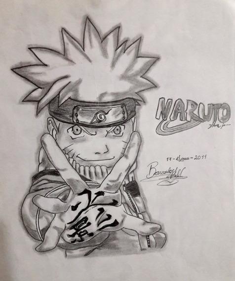 Dibujo Naruto En Mercado Libre México