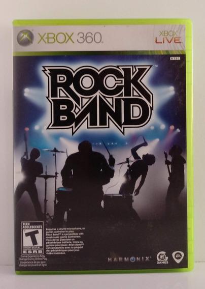 Rock Band 1 Jogo Xbox 360 Usado Mídia Física