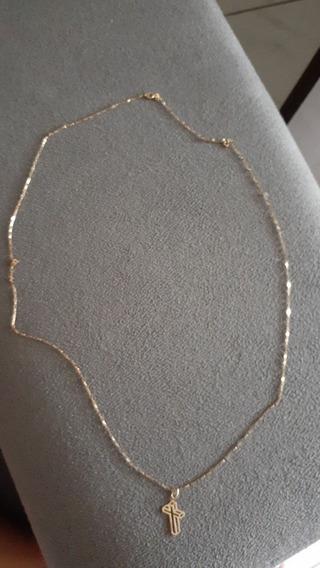 Cordão Masculino Ouro 18k 60cm 2g