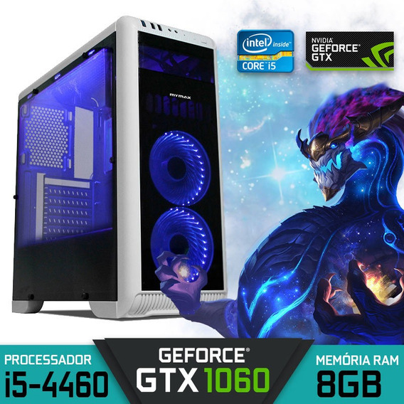 Computador Gamer Intel Core I5 Geforce Gtx 1060 Hd 1tb Win10