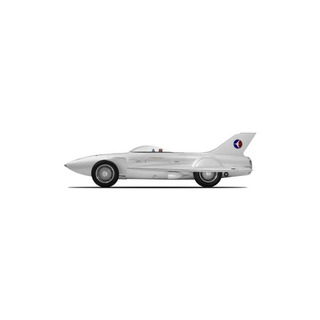 Gm Firebird I (1953) Resin Model Car De Truescale Miniatures