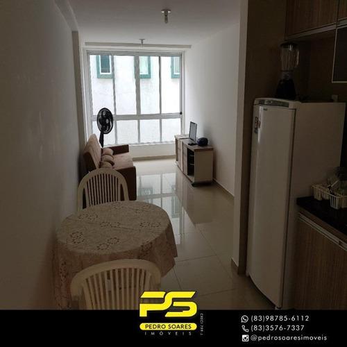(oportunidade)  Apartamento Com 1 Dormitório À Venda, 50 M² Por R$ 150.000 - Intermares - Cabedelo/pb - Ap4517