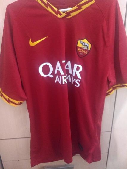 Camisa Roma Nike 2019/2020 Titular Original