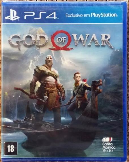 God Of War Ps4 Mídia Física Lacrado Pt-br + Brinde