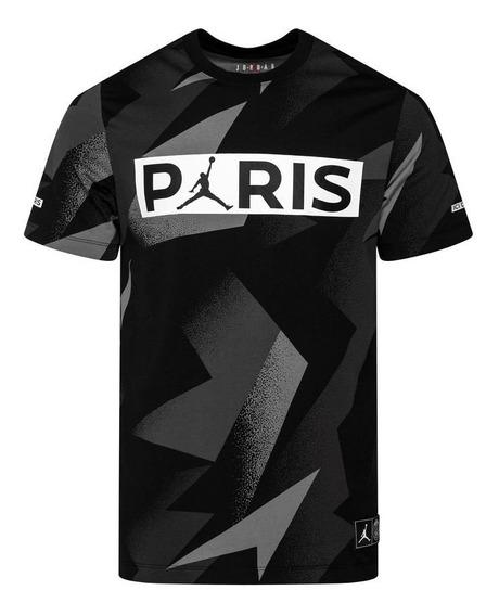 Playera Jordan X Psg Paris Saint Germain Ss Jock Tag (m)