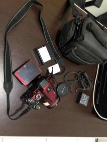 Câmera Nikon P510 Com 3 Baterias