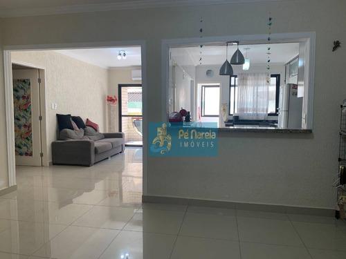 Imagem 1 de 30 de Apartamento Com 2 Dormitórios À Venda, 114 M² Por R$ 420.000,00 - Canto Do Forte - Praia Grande/sp - Ap0928