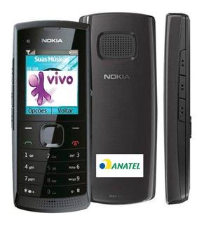 Nokia X100,1chip,2g,só Vivo (não Pega Em Mg)lanterna,lacrado