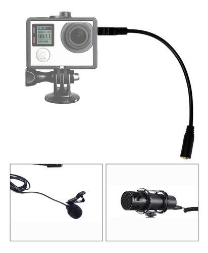 Cabo Adaptador De Microfone, Mini Cabo Adaptador Mini Design