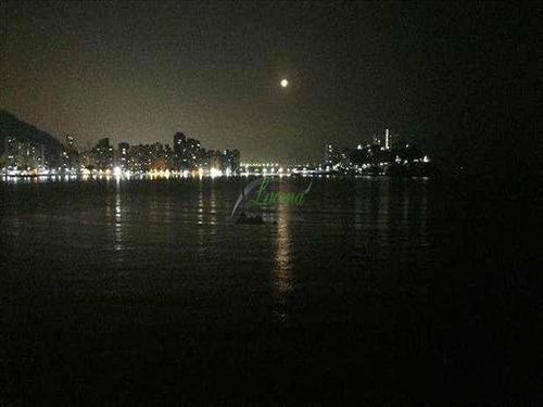 Imagem 1 de 10 de Linda Sala Living Com Vista Total Para O Mar - Morro Dos Barbosas/são Vicente - V5872