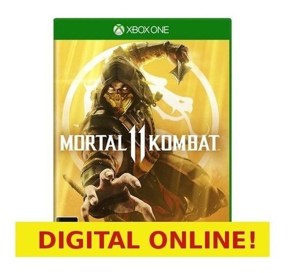 Mortal Kombat 11 - Xbox One - Digital Online - Recebá Já
