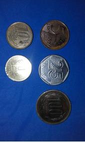 Monedas Brasil Chile Uruguay Y Fichas Casino Del Litoral X5u