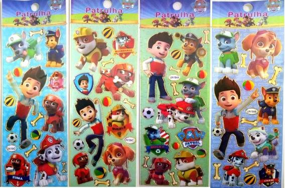 Stickers Infantiles Personajes X 40 Planchas Souvenir Calcos