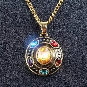 Colar Joias Do Infinito Vingadores Manopla Thanos