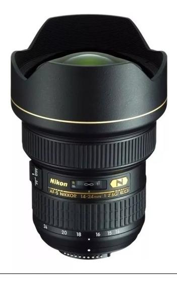 Lente Nikon Af -s Nikkor 14-24mm F/2.8g Ed