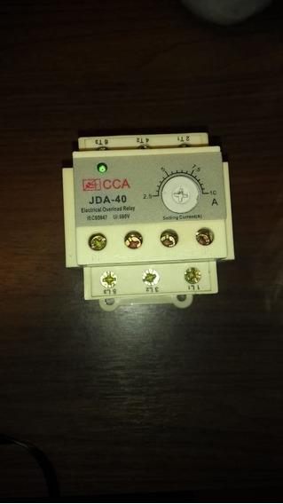 Relé De Sobrecarga Eletrica Cca Jda-40