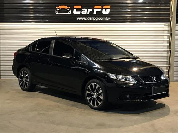 Honda Civic Lxr 2.0 16v Flex Aut. 2016 Todas Revisoes N
