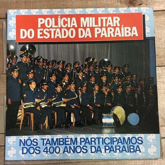 Lp Banda De Musica Militar Do Estado Da Paraíba 1985