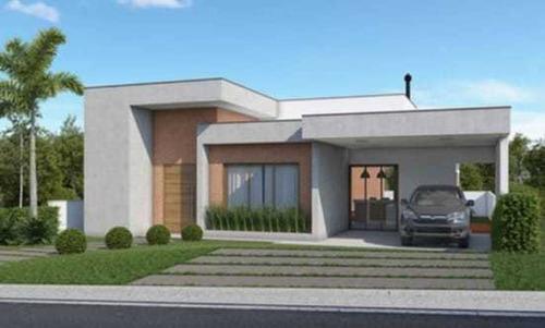 Imagem 1 de 4 de Casa Em Obras A Venda No Condomínio Ninho Verde I Eco Residence - Porangaba - 1388
