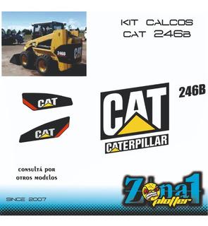 Kit Calcos Caterpillar 246b
