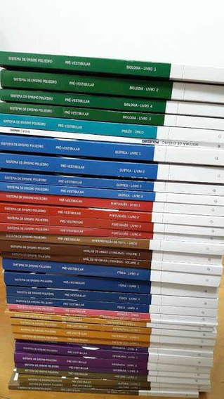 Livros Poliedro Extensivo Pré-vestibular