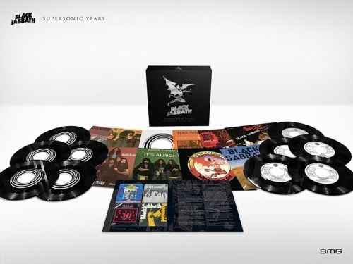 Black Sabbath Supersonic Years Box 10x Singles Em Vinil 7pol