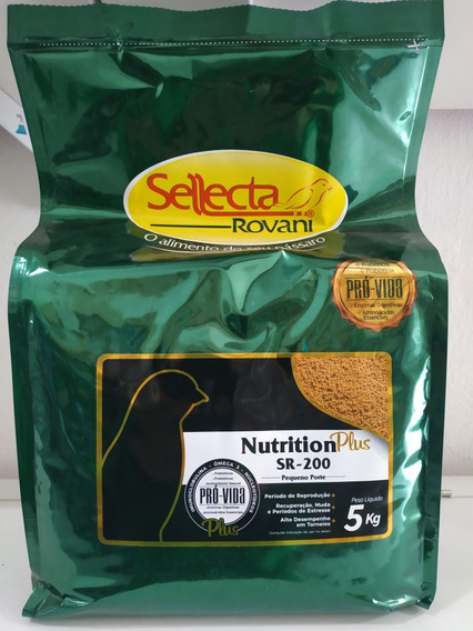 Alimento Extrusado Sellecta Nutrition Plus Sr 200