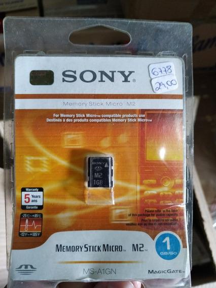 Cartão Memória M2 Sony 1gb Original
