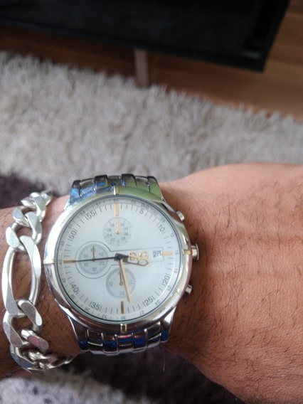 Relógio Dolce Gabbana Oxford Cronografico