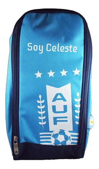 Bolso Botinera Selección Uruguaya De Fútbol Soy Celeste