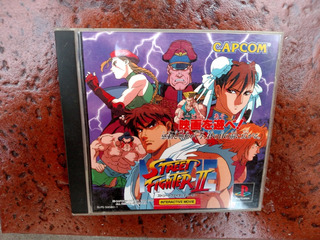 Street Fighter 2 Interactive Movie Ps1 Ps2 Orig Jap Kuy