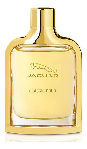 Jaguar Classic Gold Edt - Perfume Masculino 100ml Blz