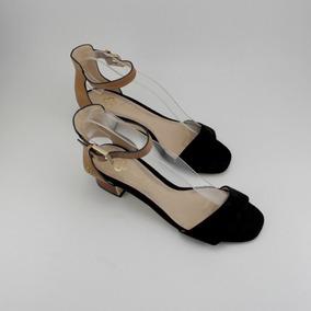 0bec25a876 Sandalia Salto Baixo Capodarte - Sapatos no Mercado Livre Brasil