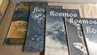 Revista Kosmos Em Alemão Antigas Raras Leia A Descrição